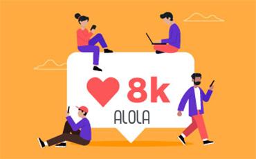Instagram Alola Agência Marketing digital